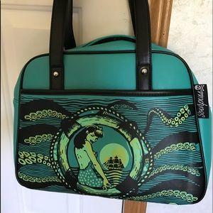 Midnight mermaid purse.